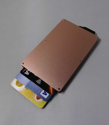 Athene Rosé goud - Cardholders | Torby