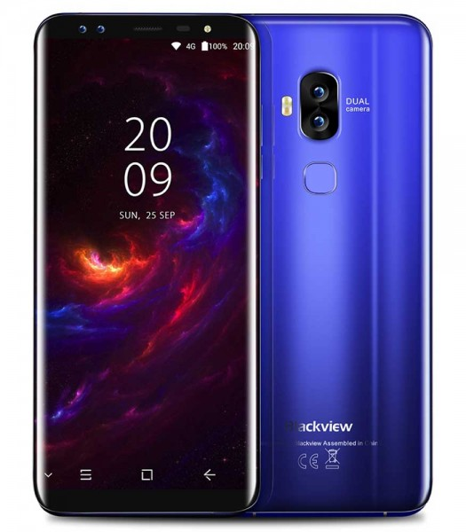 Blackview S8 Coral Blue - smartphones | Torby