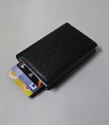 Helsinki Zwart Leer - Cardholders | Torby